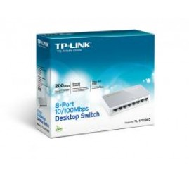 TP-Link TL-SF1008D 8-Port 10-100Mbps Desktop Switch